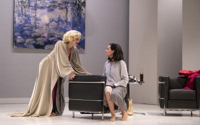 ElisabetCasanovasi LauraConejero, com a Marilyn Monroe i HedyLamarr | Cedida