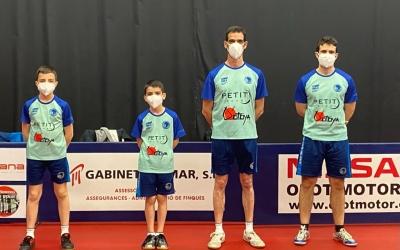 Quartet del Natació Sabadell aquest cap de setmana a Olot | CNS TT