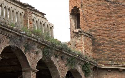Estat actual del Castell de Can Feu   Roger Benet