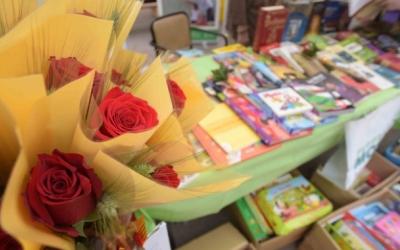 Una parada de llibres per Sant Jordi | Roger Benet