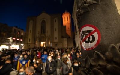 Manifestació a favor de Hasél a Sabadell | Roger Benet