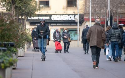Un VMP circulant pel Passeig | Roger Benet