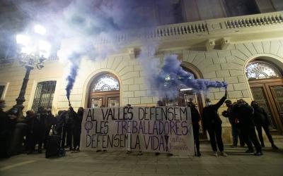 La marxa a la plaça de Sant Roc | Roger Benet