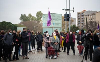 Manifestació feminista al Parc Taulí | Roger Benet