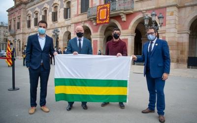 Els quatre diputats sabadellencs a les portes del Parlament | Roger Benet