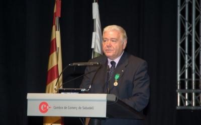 Antoni Peñarroya en una foto de la Cambra de Comerç de Sabadell | Cedida