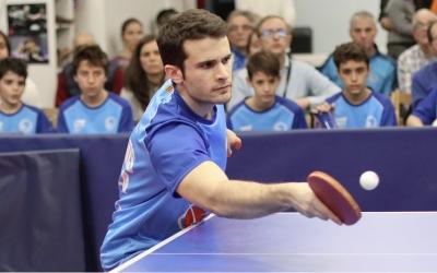 Ferran Brugada serà un dels puntals de l'equip | CNS Tennis Taula