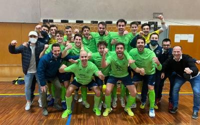 Alegria a la plantilla escolàpia després de la victòria | Sergi Park