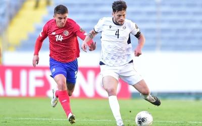 Acció del partit contra Costa Rica | Cedida