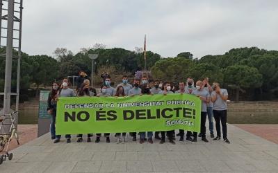 Els encausats al Parc Catalunya | Pere Gallifa