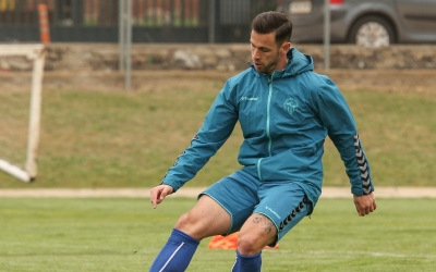 Álvaro, a l'entrenament d'avui | CES