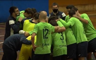 Alegria en la Pia després d'endur-se el derbi | Ràdio Sabadell