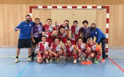 Fotografía de la victòria davant del CET 10 | FS Sabadell Femení