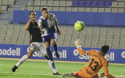 Juan Hernández, en el partit contra l'Albacete | CES