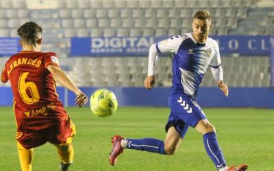 Juan Hernández havia encadenat cinc titularitats des del dia del Zaragoza | CES