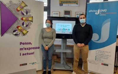 Morell i Silva, a l'Oficina de Joventut, al Vapor Codina/ Karen Madrid
