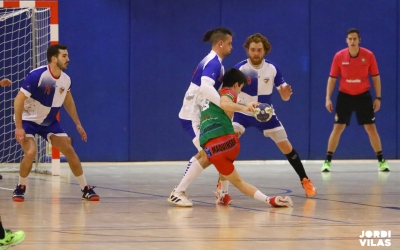 Un parcial de 0-6 favorable al Sant Quirze va ser determinant | Jordi Vilas
