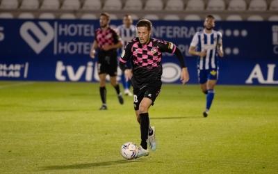 Édgar va marcar el seu únic gol aquesta temporada a Ponferrada | Roger Benet