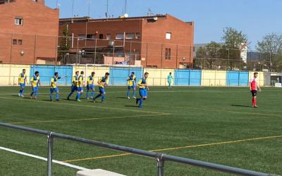 Els jugadors del Sabadell Nord celebren un dels gols | Albert Quera
