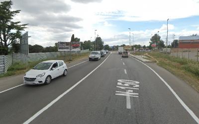 L'N-150 entre Sabadell i Terrassa | Google Maps