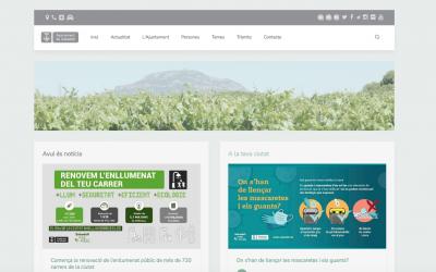 Captura del web municipal | Ràdio Sabadell