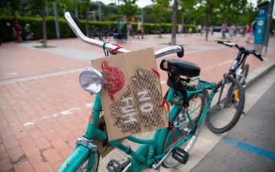 Una bicicleta en una protesta de Massa Crítica | Roger Benet