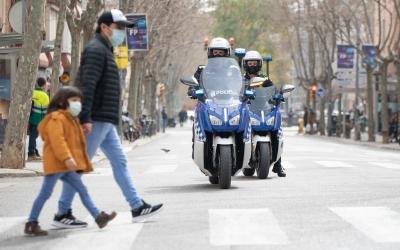 Dues unitats de la Policia Municipal | Roger Benet