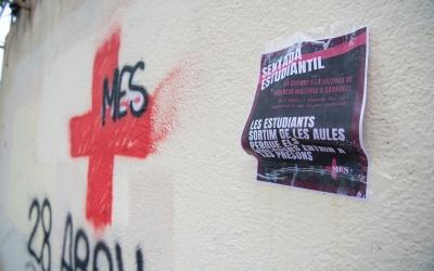 El cartell de la mobilització estudiantil/ Roger Benet