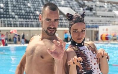 Pau Ribes i Emma Garcia van estrenar coreo a la rutina lliure | Instagram