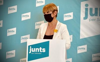 Lourdes Ciuró, portaveu de JxS | Cedida