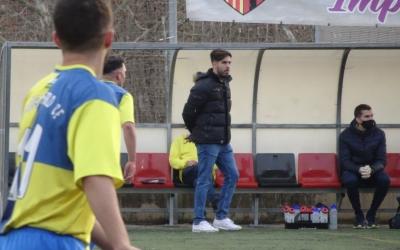 Pablo Becerril a l'àrea tècnica | Arxiu