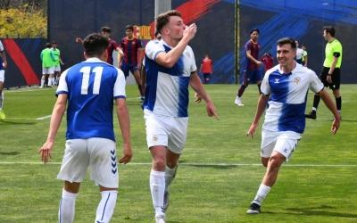 El Centre d'Esports ha marcat les dues dianes a l'equador de la segona meitat | FutBaseCES