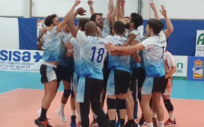Alegria desfermada en el masculí del Club amb la victòria a les semifinals | CNS Vòlei