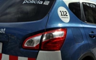 Un cotxe patrulla sels Mossos | Roger Benet