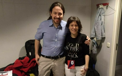 Pablo Iglesias i Marta Morell | Cedida