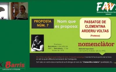 Presentació de les propostes pel Nomenclàtor a càrrec de Jordi Torguet
