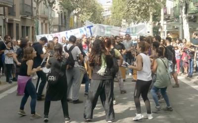 Manifestació a Sabadell | Twitter (@Acampadasbd)