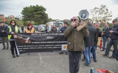Manifestacions a l'aeroport de Sabadell | Roger Benet