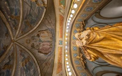 Els frescos s'han recuperat després de tres mesos de feina | Roger Benet