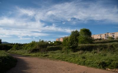 La finca de tres hectàrees de Ca n'Ustrell on s'ubicarà el complex | Roger Benet