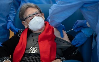 La primera vacuna de Sabadell, el passat 27 de desembre | Roger Benet