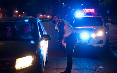 Un control nocturn de la policia | Roger Benet