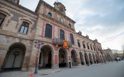 Façana del Parlament de Catalunya | Roger Benet