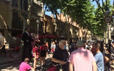 Un moment de l'acte de Revolta Veïnal | Ràdio Sabadell