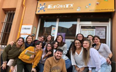 L'equip de l'Associació Juvenil l'Esquitx | Cedida