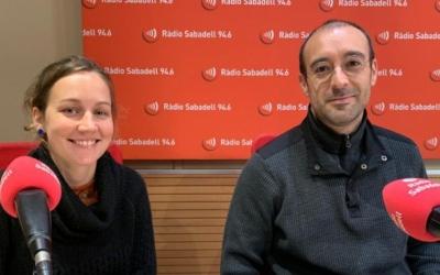Júlia Collignon i Alberto Capitan, en una imatge d'arxiu | Mireia Sans