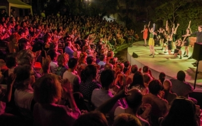 Un dels espectacles de la tercera edició del Fresc Festival | Roger Benet