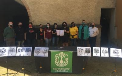 Les entitats signats avui a la Casa Duran | Ràdio Sabadell