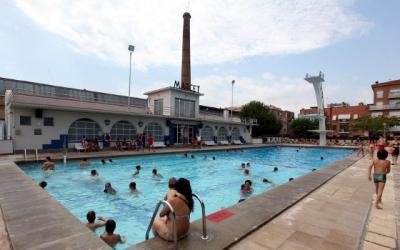Imatge de la piscina de Can Marcet | Cedida