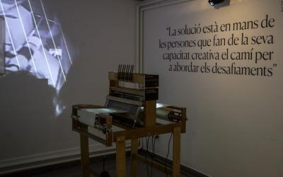 'La fàbrica del disseny.Expo-homenatge a Josep Bombardó' es pot veure fins al 16 de juny | Cedida
